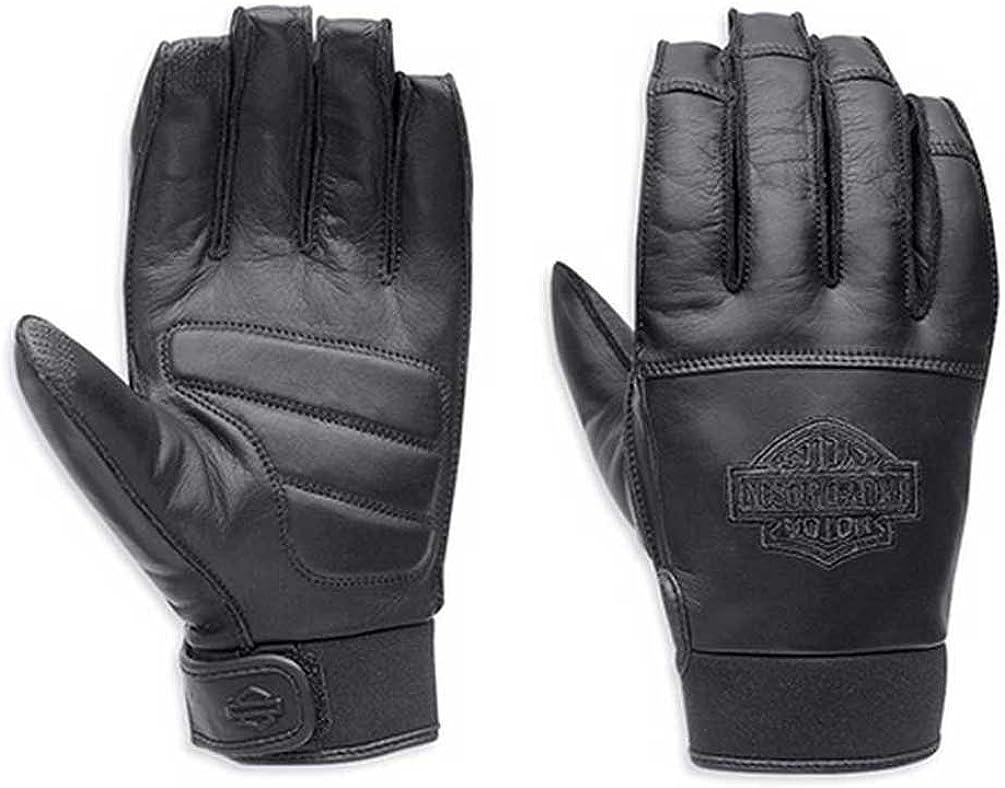 HARLEY-DAVIDSON Hand Protection Glove *Black//White Size Large New