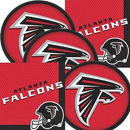 Amazon Com Atlanta Falcons Nfl Football Team Logo Plates And