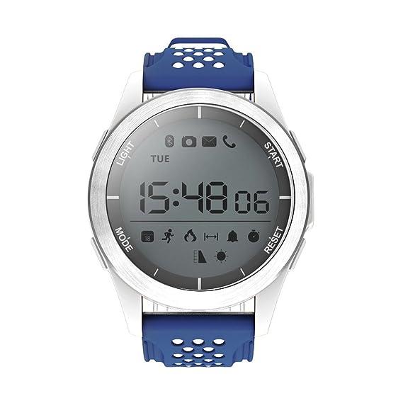NO.1 F3 Deportes Smartwatch giratoria Dial 30m Impermeable Reloj de natación Podómetro Reloj de Pulsera al Aire Libre para Android iOS