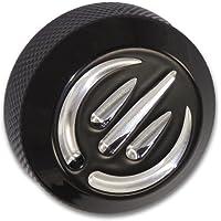 Bagger Brothers HD-DSC-TR-005-B Black Contrast Cut Billet Oil Dipstick Cover Harley Davidson: Touring Road Glide Road…