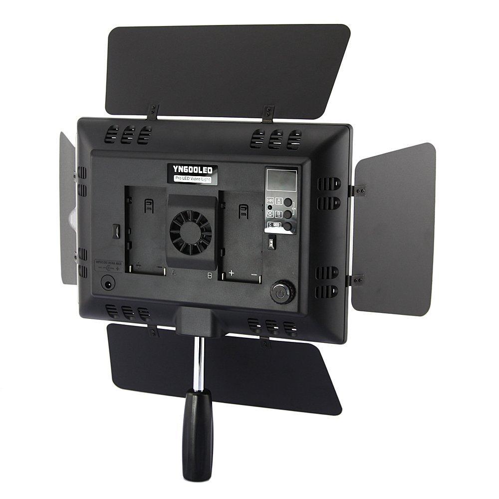 Yongnuo YN-600 Pro - Lámpara con luz LED de estudio fotográfico ...