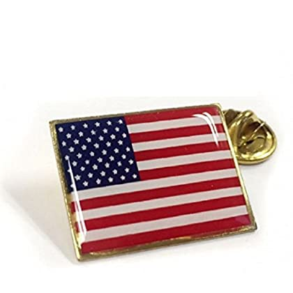 The BEST US Flag Lapel Pin   GREAT Detail   TWO Styles Available   Made In  ...