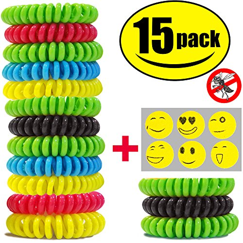 sturme-15-pack-natural-mosquito-repellent-bracelets-waterproof-bug-insect-protection-up-to-300-hours