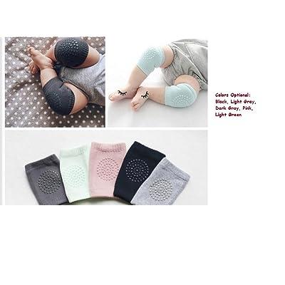 5 Pairs Unisex Baby Knee Pads Crawling Anti-Slip Knee Protector Elbow Leg Warmers