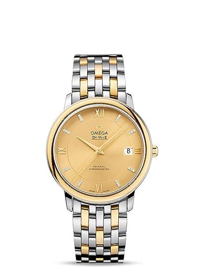 Omega DeVille Prestige Coaxial Reloj para hombre 424.20.37.20.58.001: Amazon.es: Relojes