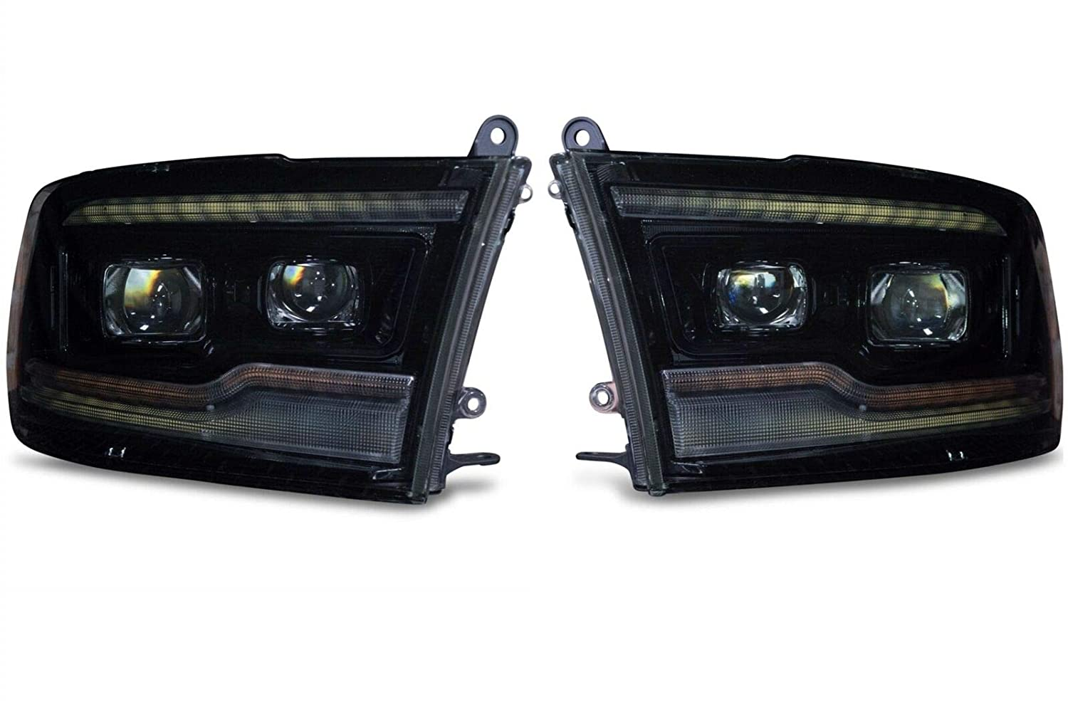 Morimoto XB Plug & Play Brightest Headlights For Dodge Ram Compatible
