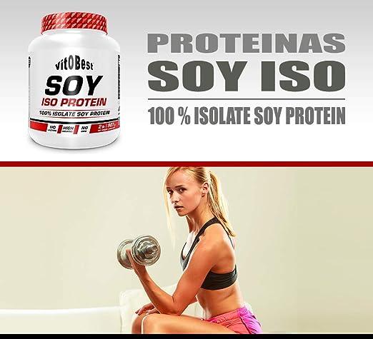 SOY ISO PROTEIN 2 lb NEUTRO - Suplementos Alimentación y Suplementos Deportivos - Vitobest