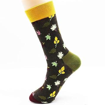 LILIKI@ Calcetines Estampados De Moda De Invierno Recién Diseñados Calcetines Novedosos Calcetines De Vestir Funky