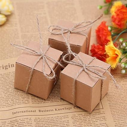 Amazon Com Jonaro 50pcs Gift Box Rustic Wedding Decoration Baby