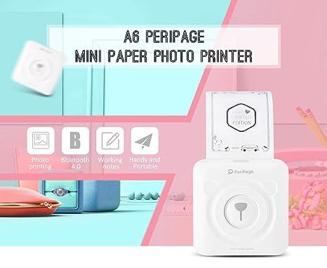 Portátil Mini Paperang Conexión Impresora/Bolsillo ...