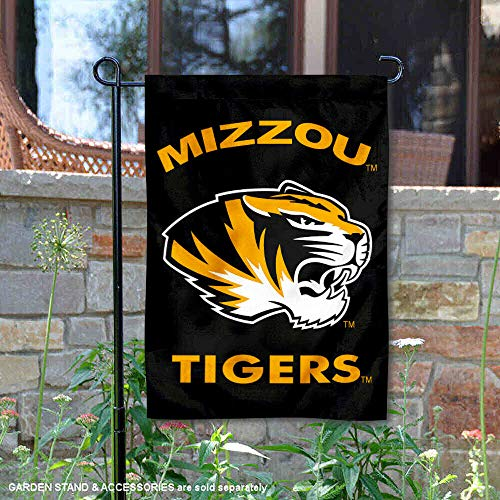 College Flags and Banners Co. Missouri Tigers Black Garden Flag