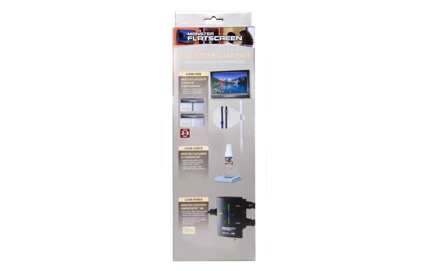 MONSTER FS CLN Pack FlatScreen Clean Pack