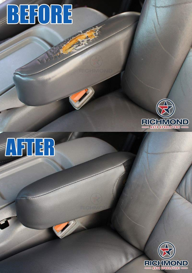 2003-2007 For GMC Sierra 1500 2500 SLE Driver Bottom Cloth Seat Cover Dk Gray