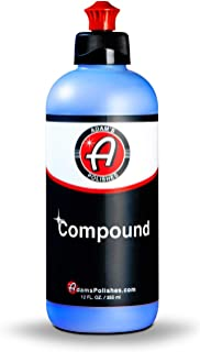 product image for Adam's New Paint Correcting Compound 12oz - Silicone-Free, Body Shop Safe, Low-Dust Formula - Heavier-Cut for Faster, Stronger Correcting for Clear Coat, Gel Coat, Single Stage Finishes