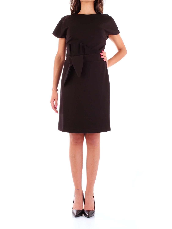 Annarita N Damen 508NERO Schwarz Polyamid Kleid