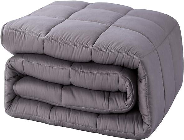 Gewichtsdecke Therapiedecke Anti Stress Baumwolle Weighted Blanket Weighted