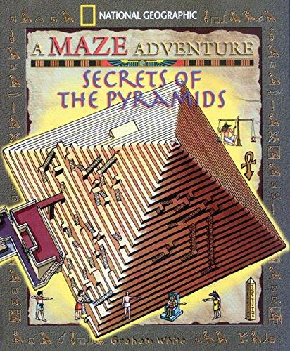 Secrets Of The Pyramids National Geographic Maze Adventures border=