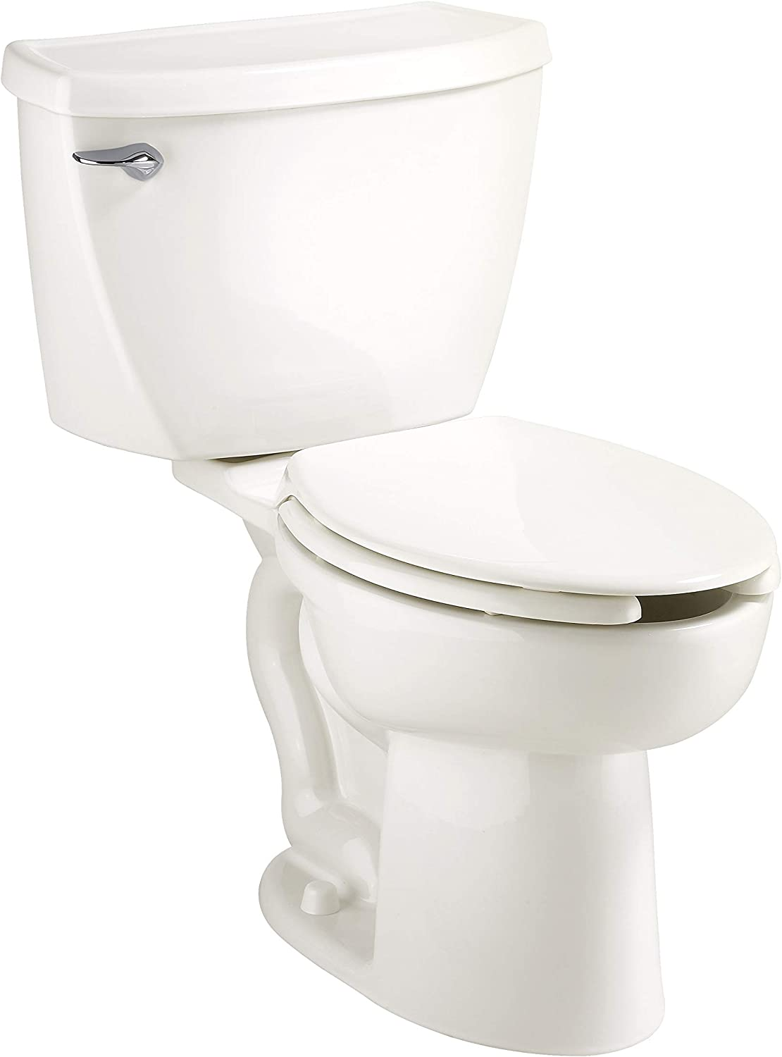 American Standard 2462.016.020 Cadet Elongated Pressure Assisted Two Piece Toilet, White , 30.25