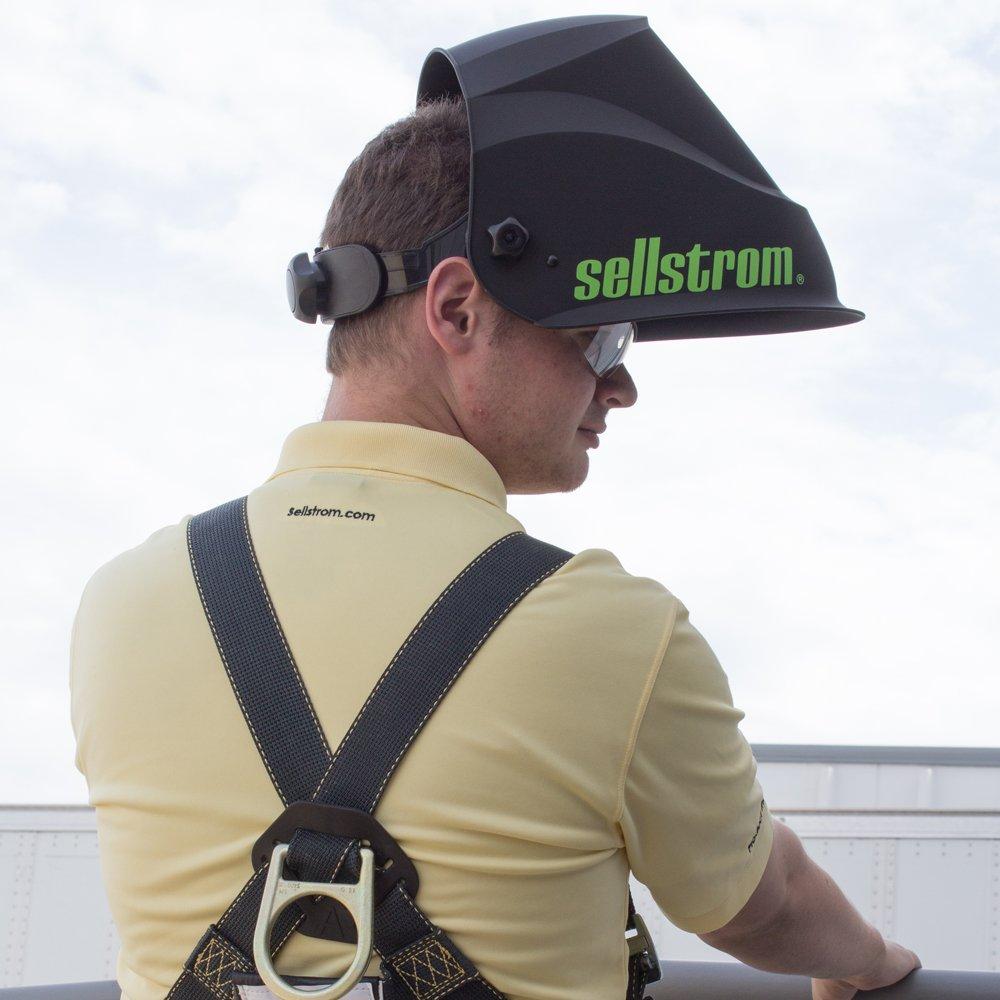 Sellstrom S26200 Advantage Plus Series Welding Helmet with Large ADF - Black/Green by Sellstrom (Image #5)