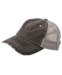 MG Low Profile Special Cotton Mesh Cap-Black W40S62B