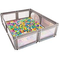 JXXDDQ Baby Fence Baby Plastic Playpen Foldable Room Divider Child Kids Barrier (Size : 200×250×70cm)