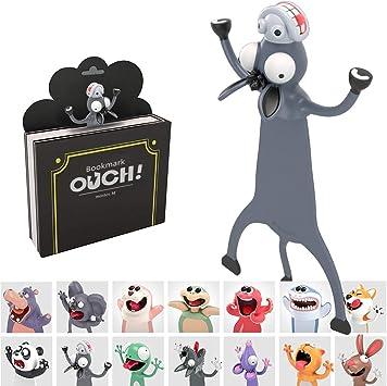 lustige PVC Party Beg/ünstigt Weihnachtsgeschenk Geschenk Briefpapier Geschenk f/ür Kinder-Sch/üler Witzige 3D Cartoon Tier-Lesezeichen,lesezeichen kinder Esel, 3D-Lesezeichen