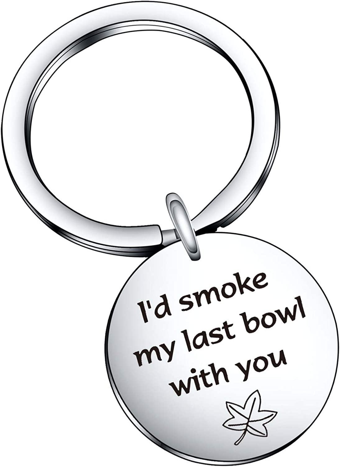 De&ai Moving Away Gift, Inspirational Mantra Friendship Keychain for Christmas Long Distance Best Friends