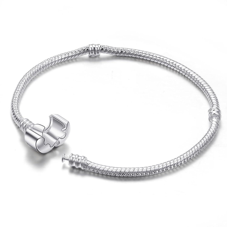 Amazon Silver Starter Master Charm Bracelet for Pandora Beads