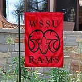 Winston Salem State Rams Garden Flag