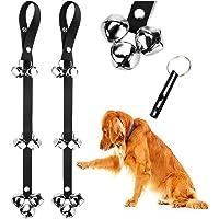 2 Pack Dog Doorbells Premium Quality Training Potty Great Dog Bells Adjustable Door Bell Dog…