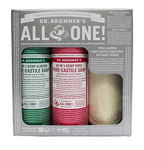 Dr. Bronner's Gift Set - Almond and Rose