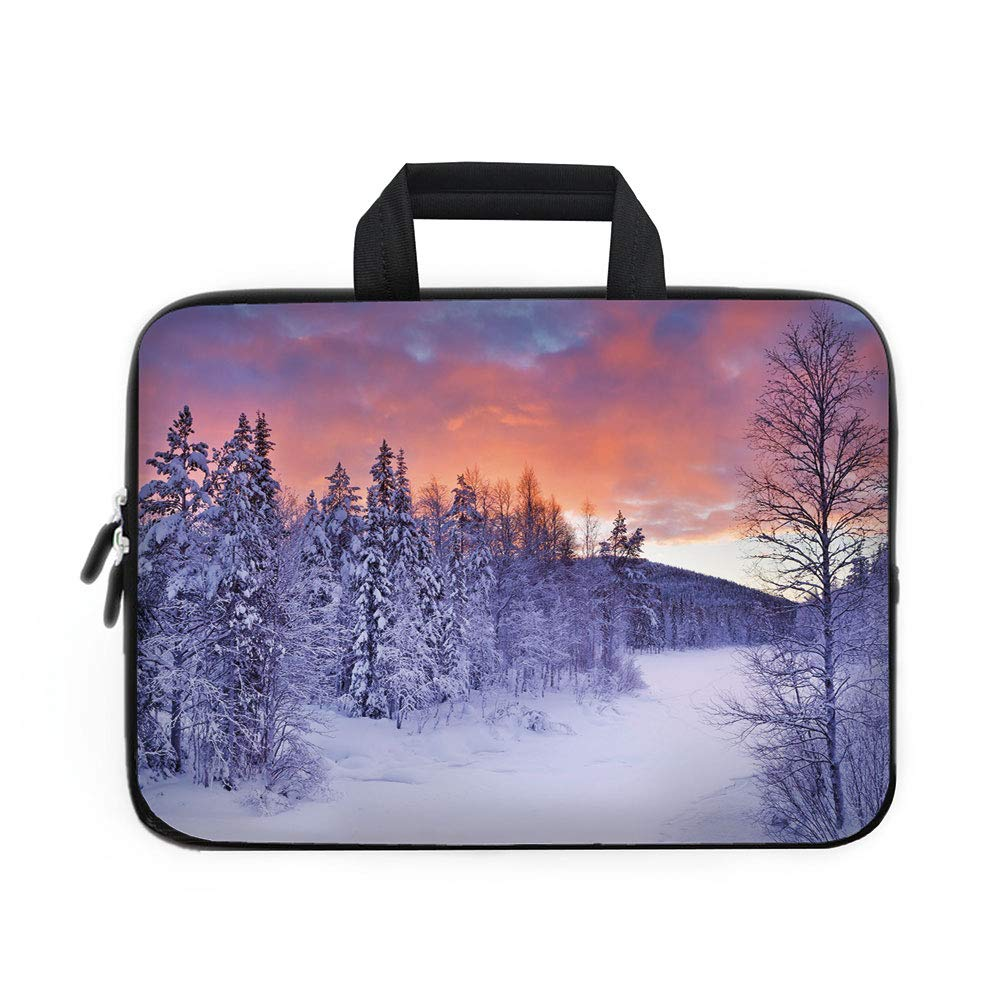 587c488bca Amazon.com  Winter Laptop Carrying Bag Sleeve