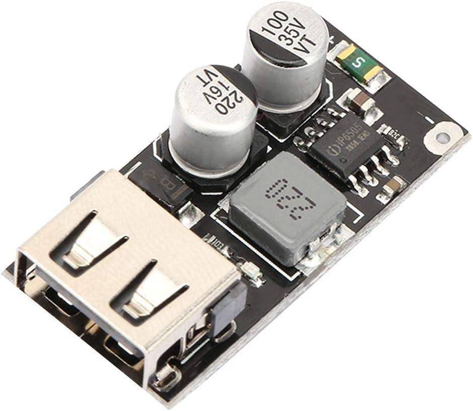 USB QC3.0 QC2.0 Fast Charging Converter Step-Down Module 6-32 to 9V 12V 24V