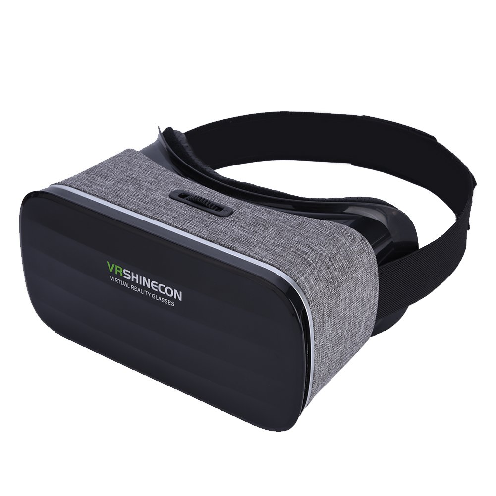Fosa Virtual Reality Headset 3D VR Glasses Goggles for 4''-6.0'' Android iOS Win Smartphones