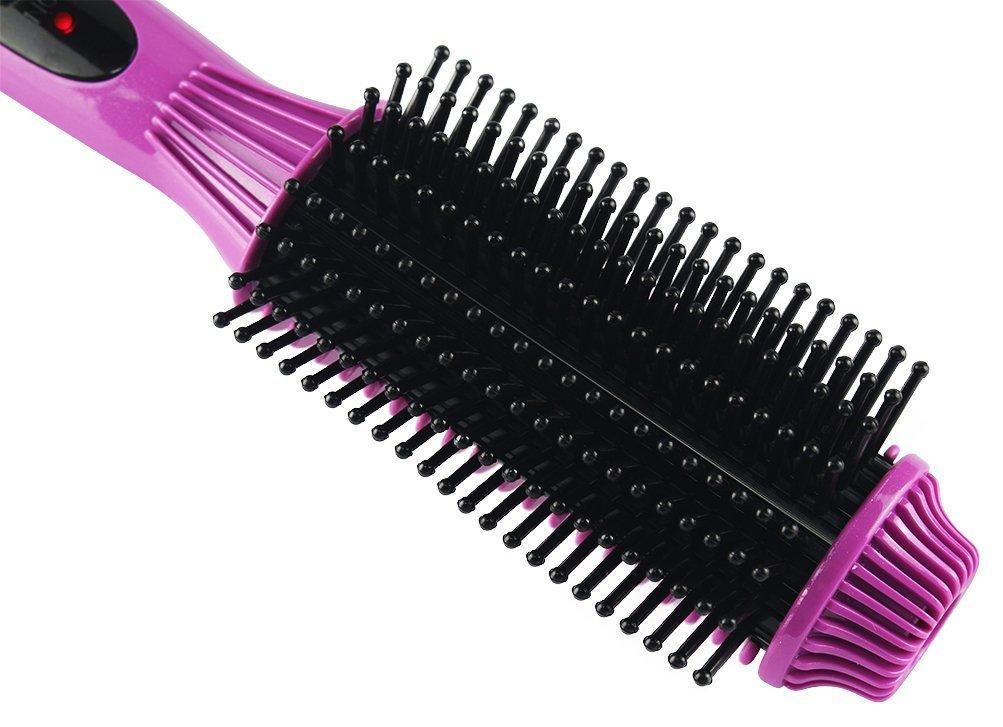 Plancha de pelo de cepillo, eléctrica multifunción Cepillo de pelo, cidbest® Ruedas estás Dual Beauty pelo Comb/cepillos, Nuevo Styling Anti Static Cepillo ...