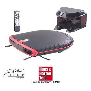 Sichler Haushaltsgeräte televisor de limpieza & – Robot aspirador, 120 min. Batería unidad de