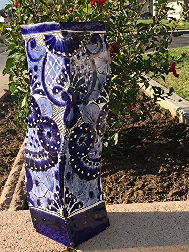 Talavera Tall Vase - 5