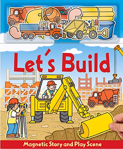 Let's Build (Magnetic Story & Play Scene) (Book Playboard)