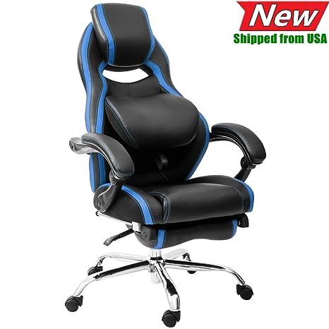 Pleasant Amazon Com Jresboen Thicken Pu Leather Executive Office Dailytribune Chair Design For Home Dailytribuneorg