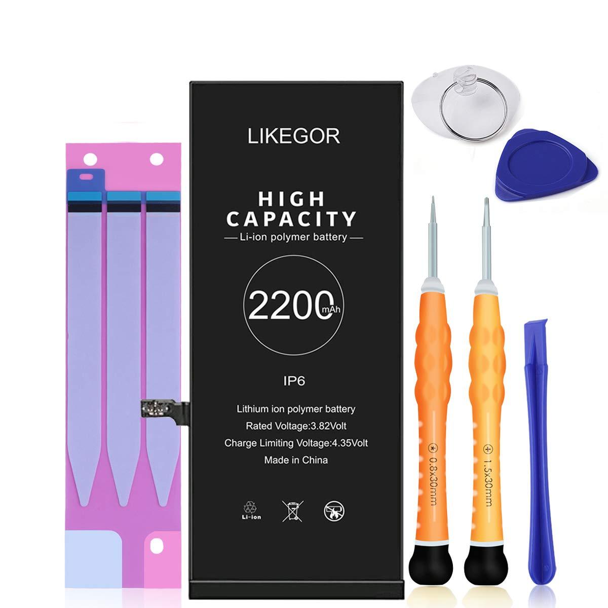 bateria para iphone 6 con kit de herr. 2220 mah