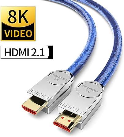 Real Hdmi 2 1 Cable Ultra Hd 8 K Hdmi 2 1 Cable 48 Gbs Elektronik