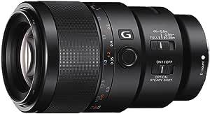 Sony SEL90M28G FE 90 mm f/2.8-22 Macro G OSS Standard-Prime Lens for E (NEX) Cameras, Black