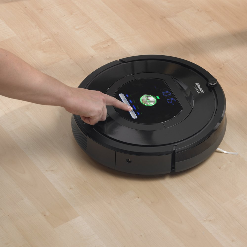 Amazoncom IRobot Roomba Robotic Vacuum Cleaner Robotic - Roomba on hardwood floors reviews