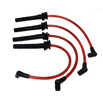 Juego de cables de bujía de encendido R50 R53 de 10,2 mm 12127513032 para BMWS Mini Cooper 2002 2003 2004 2005 2006 Supercharged 1,6 L: Amazon.es: Coche y ...