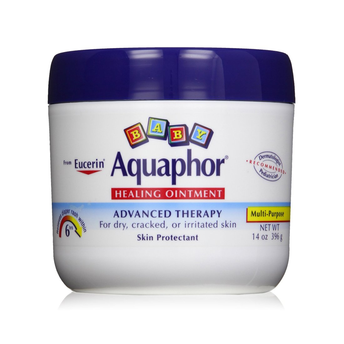 Aquaphor Baby Healing Ointment, Advanced Therapy, 14 Ounce Jar New Born Lotion Beiersdorf Inc.