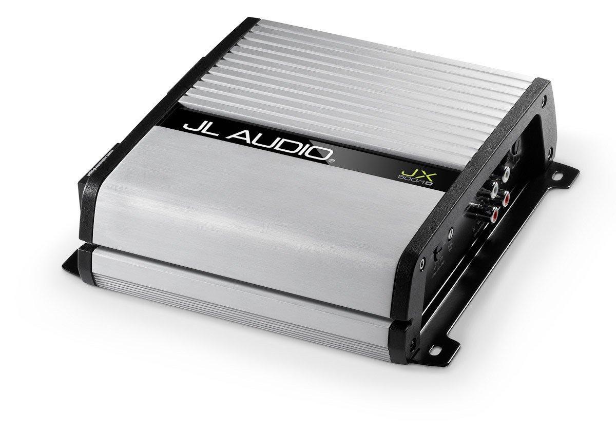 JL Audio core Single amplificador sistema de conexión 60 Amp capacidad/Mono amplificador de Subwoofer - 500 Watts RMS X 1 At 2 ohmios W/Remote Control de ...