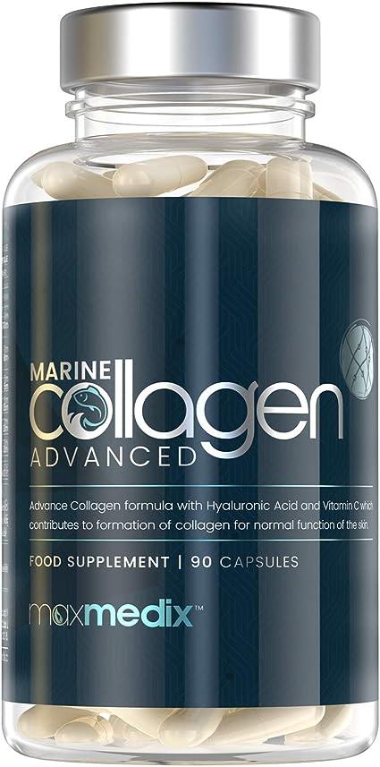 Colágeno Marino, Ácido Hialurónico, Coenzima Q10, Vitamina C y ...