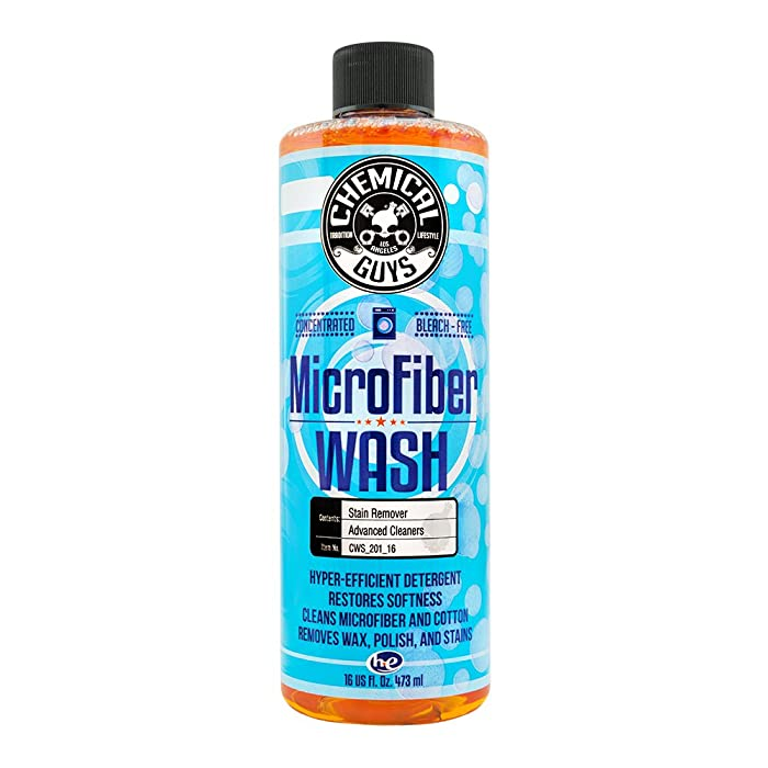 Chemical Guys CWS_201_16 Microfiber Wash Cleaning Detergent Concentrate (16 oz)