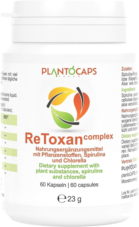 plantoCAPS® ReToxan detox complex   Tratamiento de un mes   La depuración y el adelgazamiento van de la mano