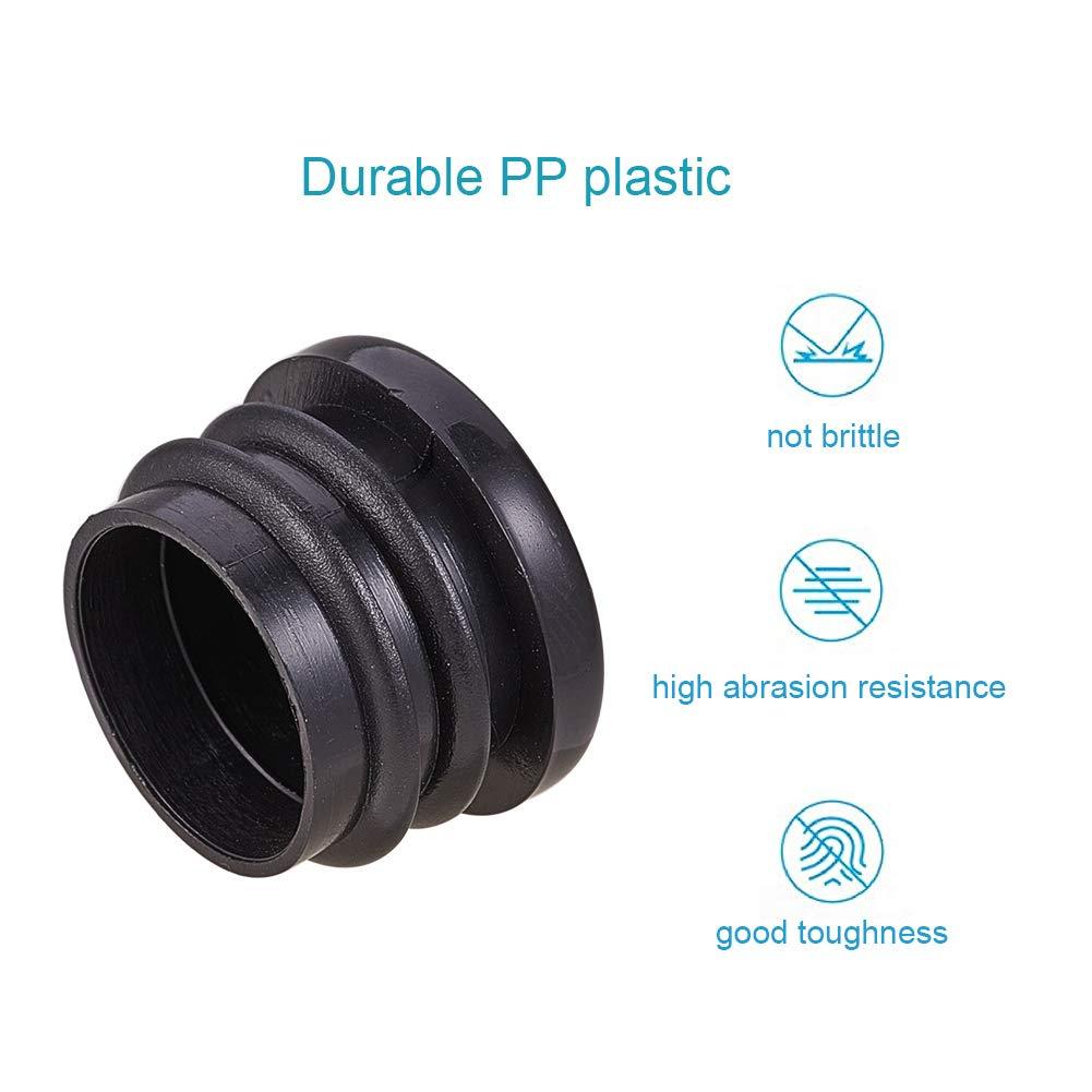 reduce el ruido INCREWAY Tap/ón de pl/ástico redondo para colocar en el suelo de muebles